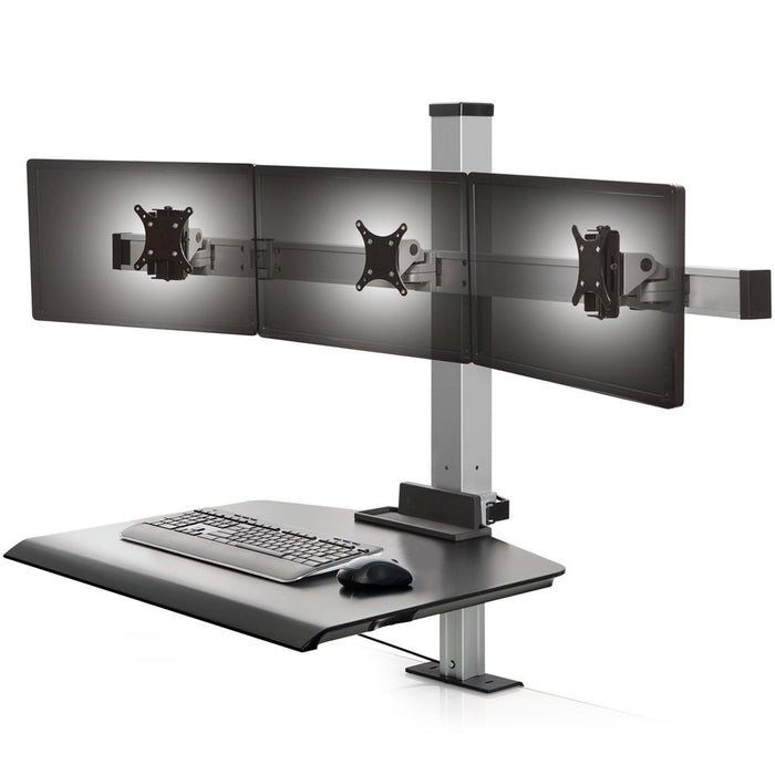 Innovative Winston Triple Monitor Sit-Stand Workstation