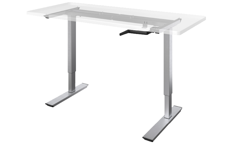 Esiergo - Crank Table Bases Tables QCRANK-24S-SLV