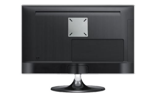 Converts 75mm or 100mm VESA Mount to Attach a 100mm x 200mm VESA Monitor, SILVER Finish