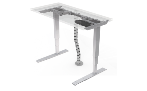 Esiergo - Electric Table Bases Tables FLEX2-CNCL-GRY