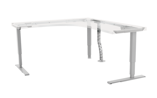 ESI Ergonomic All-Flex 3-leg + Conceal Electric Table