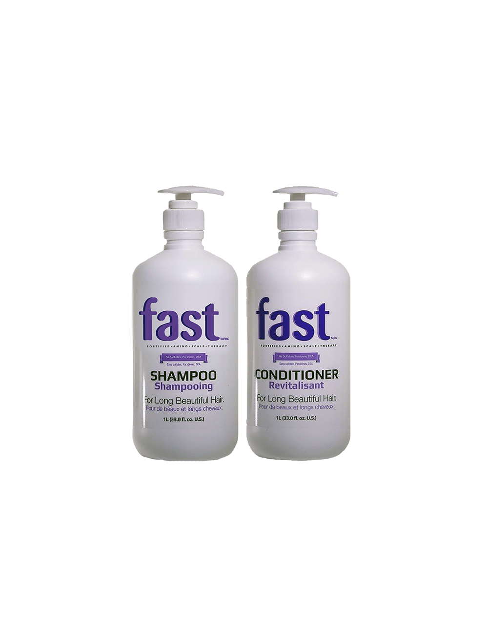 NISIM FAST Grow your hair Duo Pack 1Litre Shampoo & Conditioner - Beaut