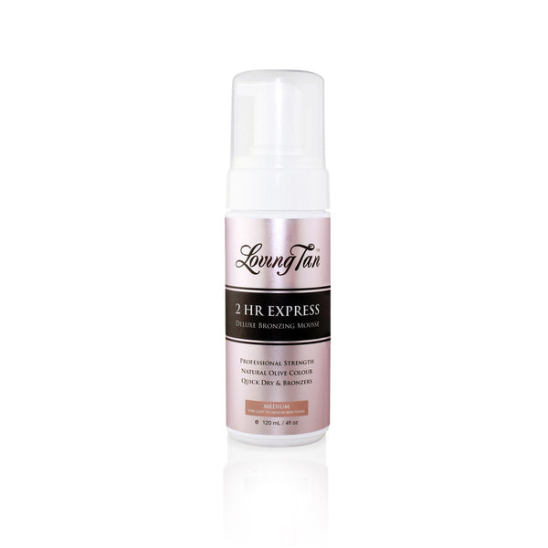 2 Hr Express Medium Self Tanning Mousse - LOVING TAN