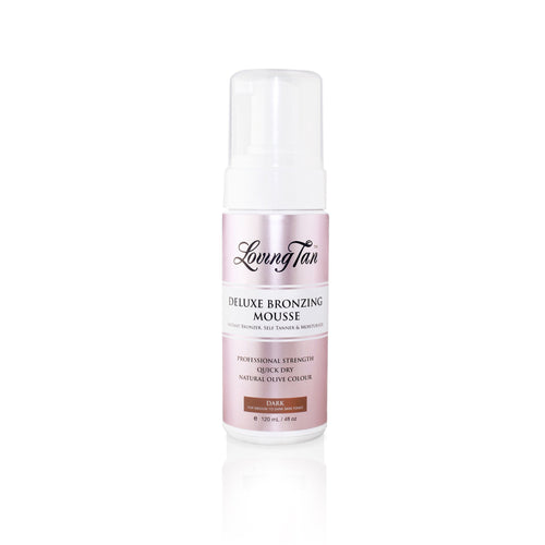 Deluxe Bronzing Mousse Dark - LOVING TAN