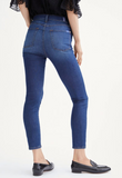 B(air) Silk High Waist Ankle Skinny in Catalina