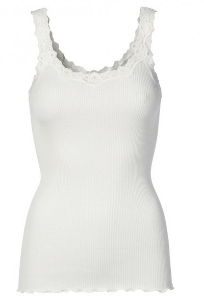 Babette Top In New White