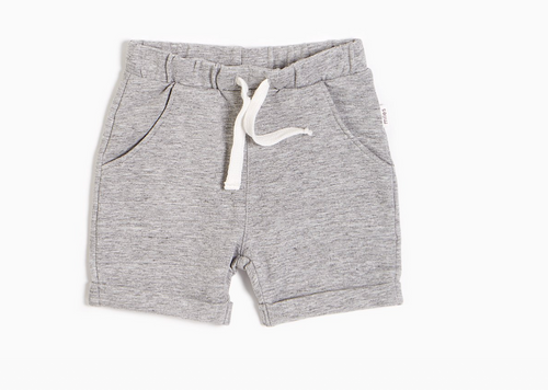 Miles Basics Heather Grey Short
