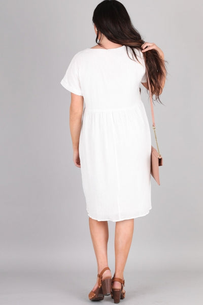 The Lily Dress in White