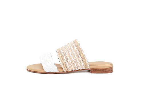 Tahiti Sandal in White
