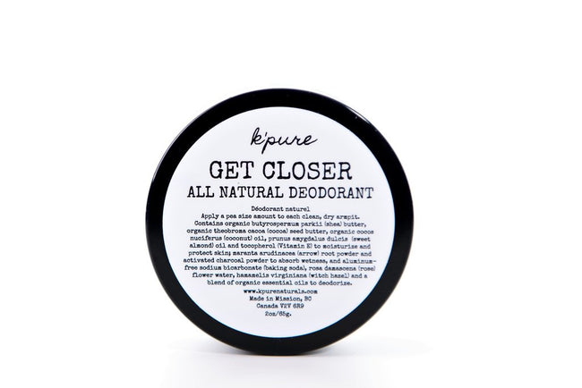 Get Closer All Natural Deodorant