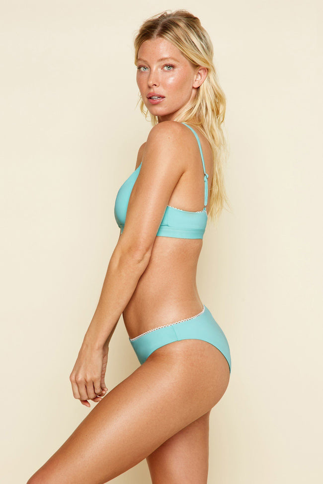 Cruise Top in Aqua