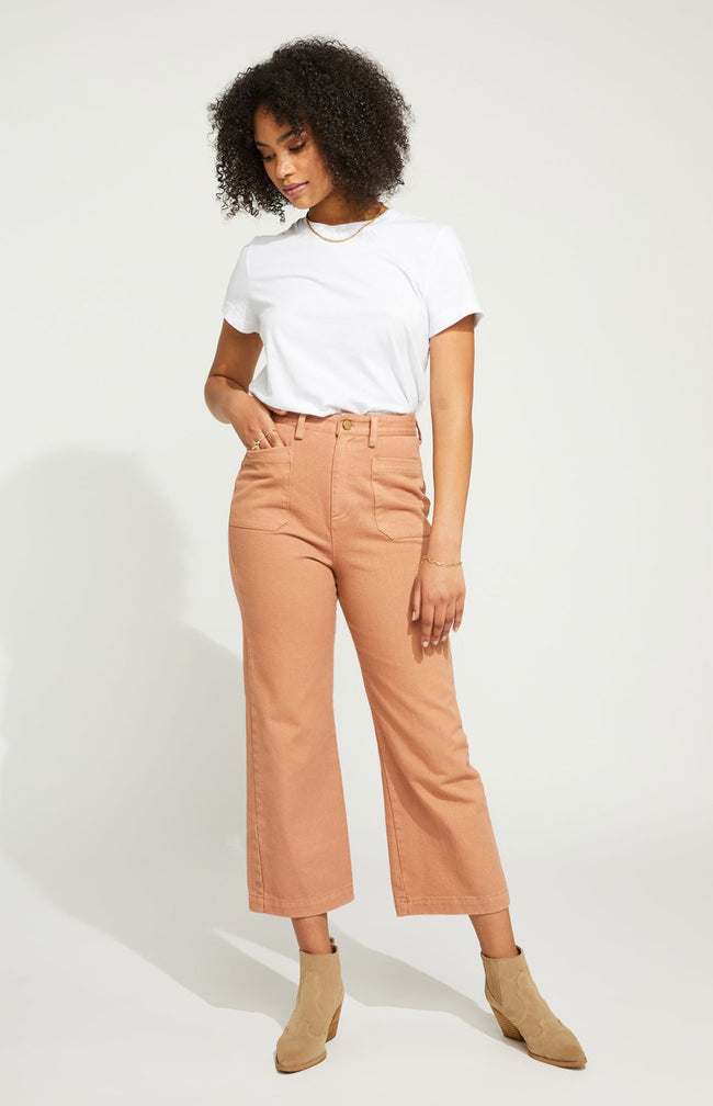 Bianca Pant in Light Clay
