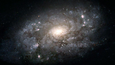 Distant newborn galaxy resembles Milky Way