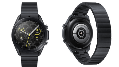 Samsung Unveiled its Galaxy Watch 3 Titan Featuring a Titanium Casing