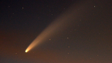 July is Neowise comet's best month
