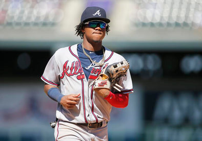 Ronald Acuña Jr. ties on franchise record for leadoff home run