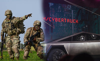 Is Tesla's Cybertruck slated for military use?