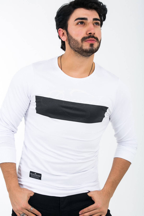 BAROS 7770 SLIM FIT LIKRALI SWEATSHIRT