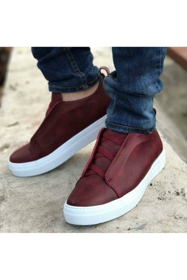 CONTEYNER 403 FASHION SPOR AYAKKABI-BORDO