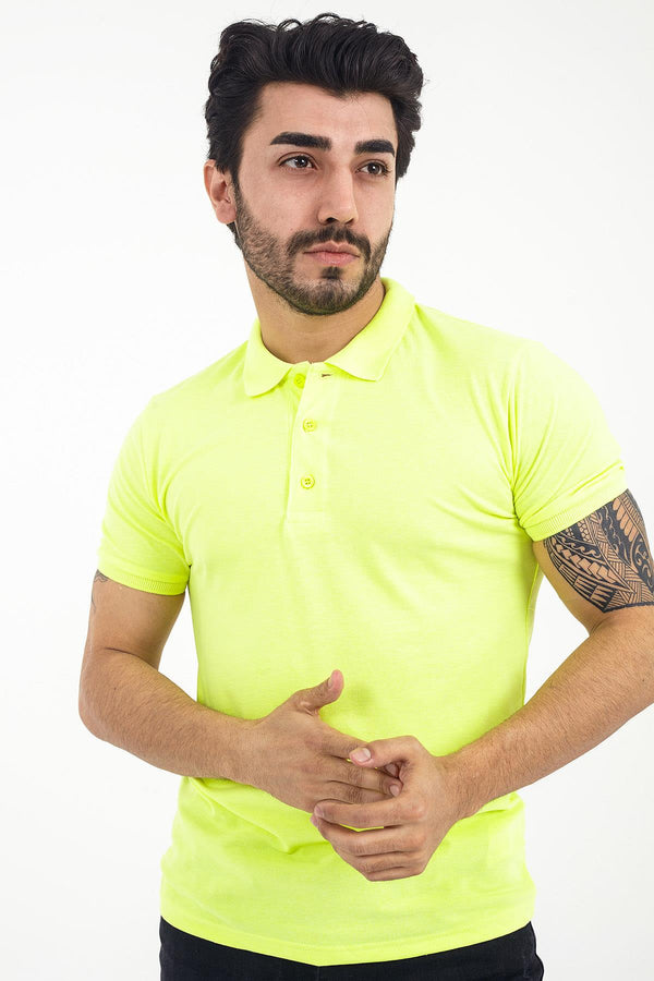 Crash P2000 Slim Fit Polo Yaka Tshirt