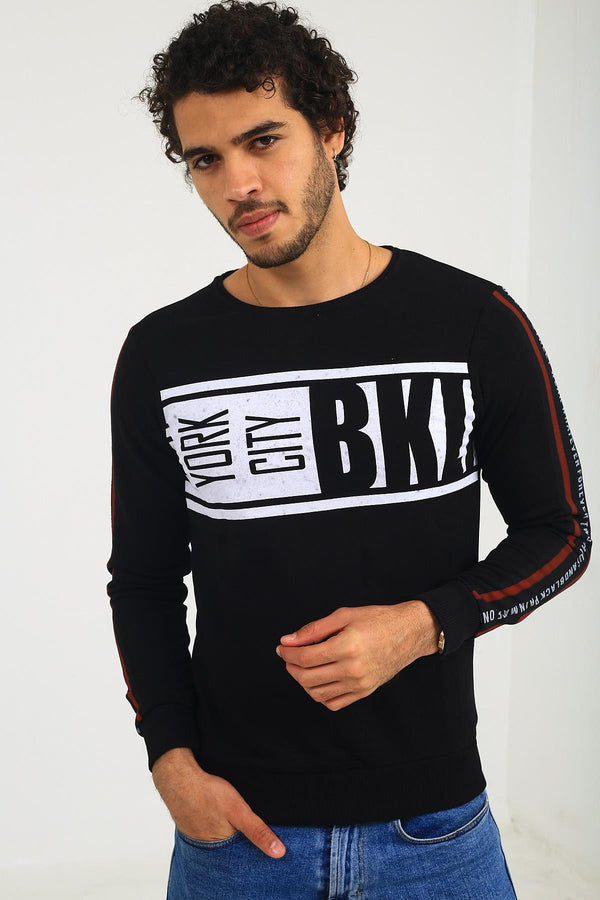 Hilti Bkl City Slim Fit Erkek Sweatshirt
