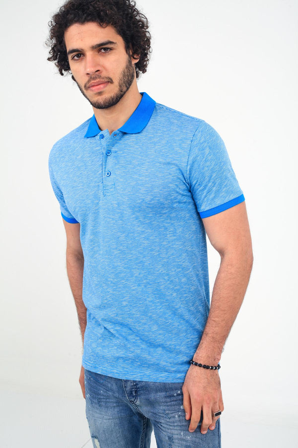 Oksit Crash P1095Y Slim Fit Erkek Polo Yaka Tshirt
