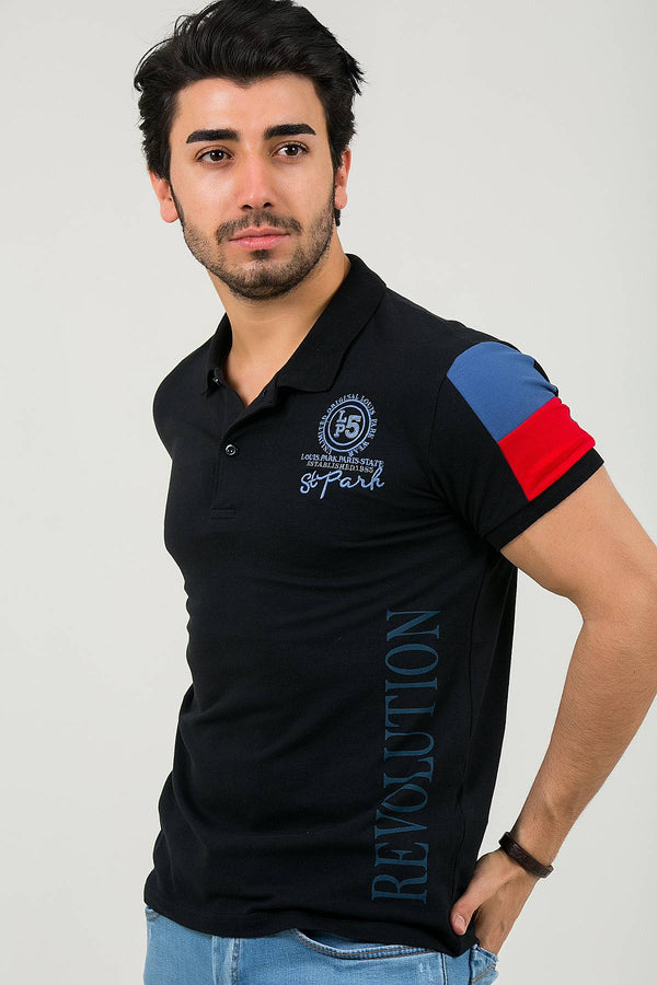 Oksit Louis 19LY129 Slim Fit Erkek Polo Yaka Tshirt