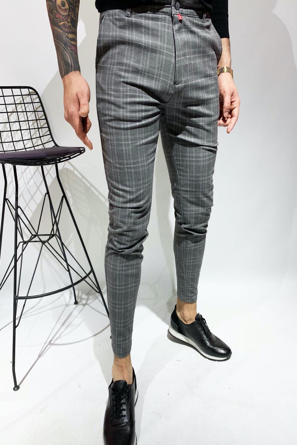 Zoom 012 Likralı Slim Fit Pantolon