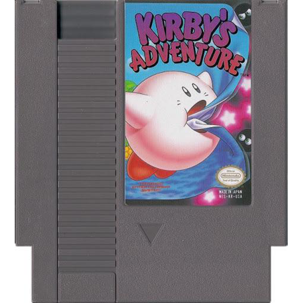 Kirby's Adventure - NES Cartridge
