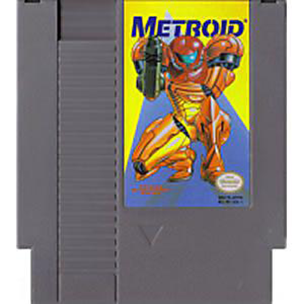 Metroid - NES Cartridge