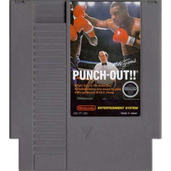 Mike Tyson's Punch-Out - NES Cartridge
