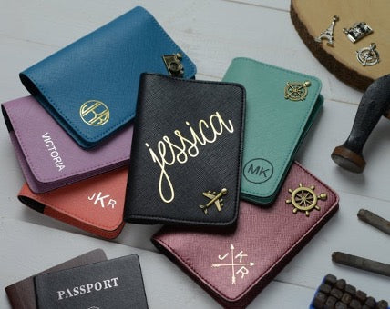 Passport covers in different colors
