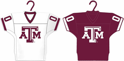 TEXAS A&M AGGIES NCAA Home & Away Jersey Christmas Ornament 2-Pack