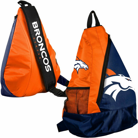 Denver Broncos NFL Core Sling Backpack Bag by Forever Collectibles