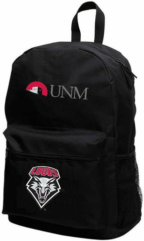 NEW MEXICO LOBOS NCAA Sprint Backpack, 18-inches by Concept One Accessories