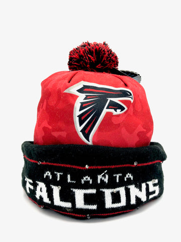 ATLANTA FALCONS NFL Camo Light Up LED Knit Hat