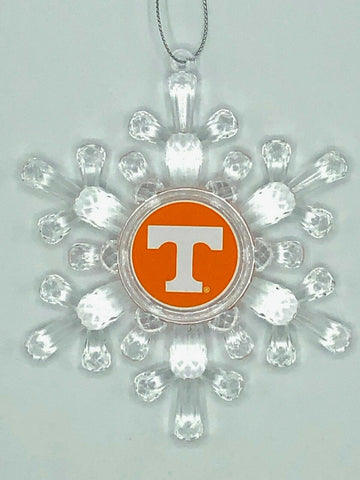 TENNESSEE VOLUNTEERS NCAA Traditional Acrylic Snowflake Christmas Ornament