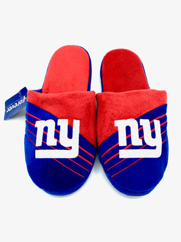 NEW YORK GIANTS NFL Cushioned House Slippers, XL