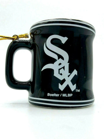 CHICAGO WHITE SOX MLB Ceramic Mini Mug Christmas Ornament