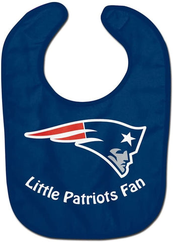 "NEW ENGLAND PATRIOTS NFL All Pro ""Little Fan"" Baby Bib"
