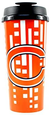 CHICAGO BEARS NFL Insulated Acrylic Travel Tumbler, 16oz