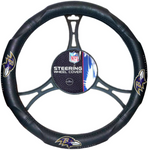 BALTIMORE RAVENS NFL Synthetic Leather Steering Wheel Cover