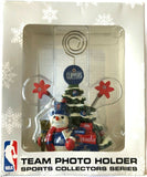 LOS ANGELES CLIPPERS NBA Christmas Tree Photo Holder with Snowman