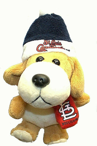 ST LOUIS CARDINALS MLB 4 inch Plush Dog Christmas Ornament