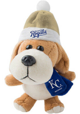 KANSAS CITY ROYALS MLB 4-Inch Plush Dog Christmas Ornament
