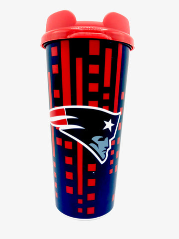 NEW ENGLAND PATRIOTS NFL Insulated Acrylic Travel Tumbler, 16oz