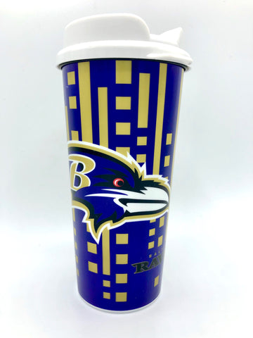 BALTIMORE RAVENS NFL Insulated Acrylic Travel Tumbler, 16oz
