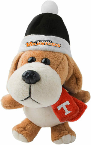 TENNESSEE VOLUNTEERS NCAA 4 inch Plush Dog Christmas Ornament