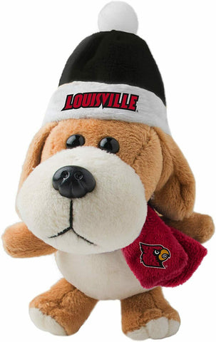LOUISVILLE CARDINALS NCAA 4 inch Plush Dog Christmas Ornament