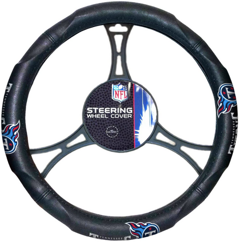 TENNESSEE TITANS NFL Synthetic Leather Steering Wheel Cover